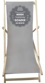 Leżak na Dzień Dziadka z imieniem TWOJEGO DZIADKA